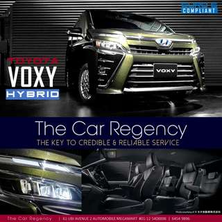 Toyota VOXY HYBRID ( NEW ) ( 7 seater ) / NOAH ESTIMA Previa VELLFIRE Alphard STEPWAGON STEPWGN SENTIA FREED