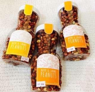 Butterd Caramel Peanuts