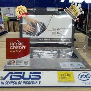 Cicil Laptop Asus Promo Free 1x cicilan
