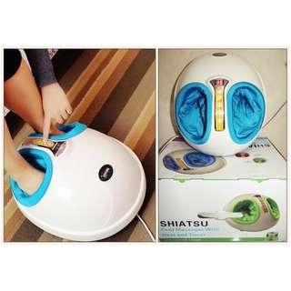 Alat Pijat Kaki Paling Enak Foot Dream Shiatsu Massager 3D + Timer Bisa Diatur