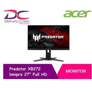 "Acer Predator XB272 bmiprz 27"" Full HD NVIDIA G-SYNC TN Monitor [BRAND NEW] [DYNACORE]"