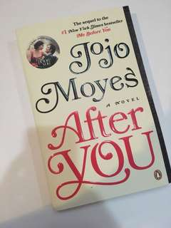 [After you] Novel by Jojo Moyes