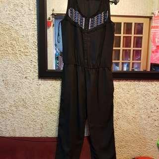 Zara beaded jumpsuit