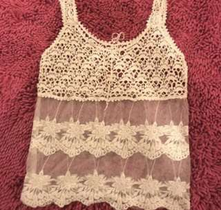 Lace Bohemian/Coachella Top