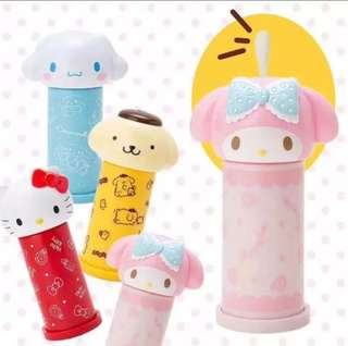Instock! Brand New Sanrio My Melody Cotton Bud Dispenser
