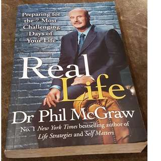 C 112 BOOK REAL LIFE BY  DR PHIL MCGRAW