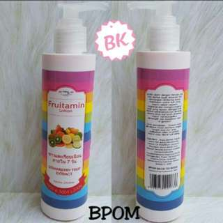 Lotion Fruitamin BPOM Original