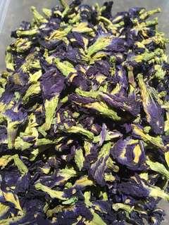 Blue ternate tea / butterfly pea tea