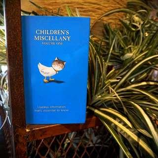 Children's Miscellany Volume One
