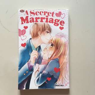 (Komik cewek one shot) a secret marriage - ando mai