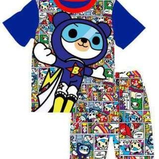 Tokidoki spaceman t-shirt set(stock eta early may)