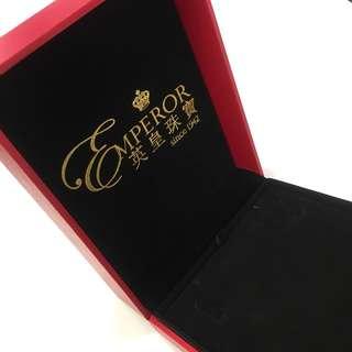 英皇珠寶 珠寶盒 首飾盒 禮物盒 大