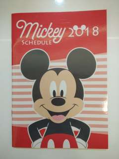 World family Mickey Mouse 2018 schedule