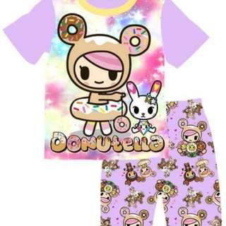 Donutella t-shirt set(stock eta in early may)