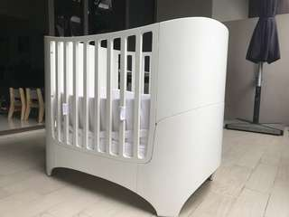 Leader Cot / Bed - White