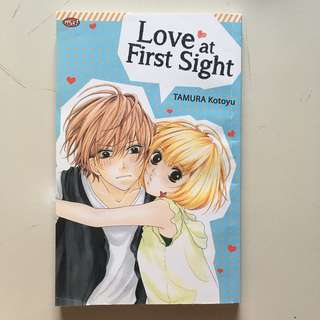 (Komik cewek one shot) love at first sight - tamura kotoyu