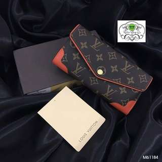 LOUIS VUITTON WALLET - LV WALLET - LADIES LEATHER WALLET