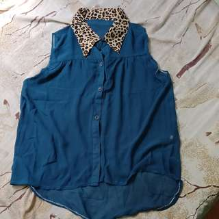 Tiger sleeveless