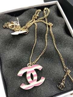 Chanel Necklace 季節限定版間條 全新購自巴黎保正真品