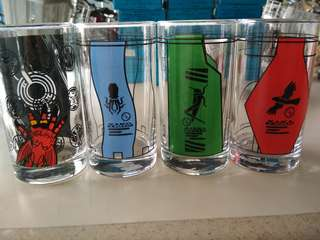 Banpresto Kamen Rider OOO Drinking Glass
