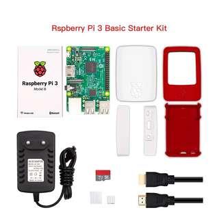 Raspberry Pi 3 Model B Starting Kit