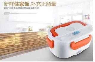 现货✔️多功能电热饭盒   颜色:蓝色,粉色 内胆材质:食品级PP材质 容量:1.5L