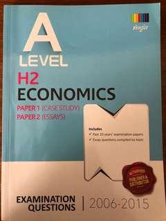 A Level Economics TYS 2006-2015