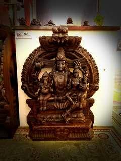 Ganesha Wood carving