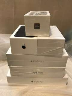 iPhone 7、iPhone 6、iPad Air、iPad mini、iPad mini 4 盒Box