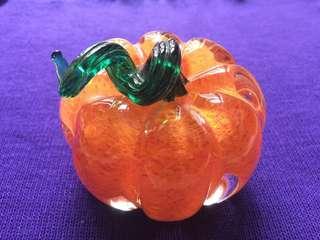 Handmade Liuli pumpkin - weight 610g