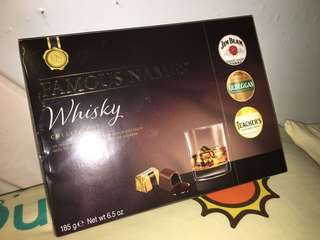 Famous Names Whisky collection chocolate