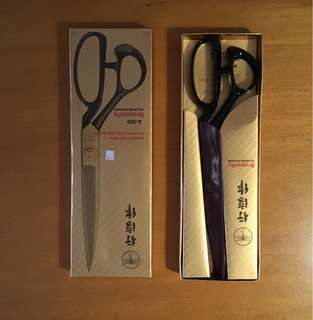 South Korea dragonfly brand scissors 12 inch garment tailoring scissors cloth cut line for A300 chun