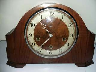1940-50's Smiths Enfield 3 holes Clock