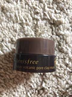 Innisfree Super Volcanic Pore Clay Mask Travel Size