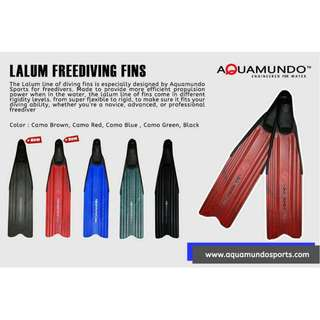 Aquamundo Lalum Freediving Fins Long Fins