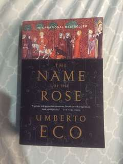 Good as New The Name of The Rose by Umberto Exo