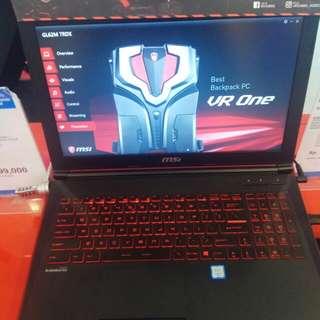 Laptop MSI Gaming New GL62M 7RDX Bisa Cicilan Tanpa Kartu Kredit Proses Cepat 3menit