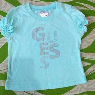 Authentic Baby Guess Top