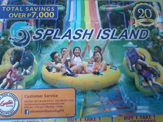 Splash Island Discounted Ticket