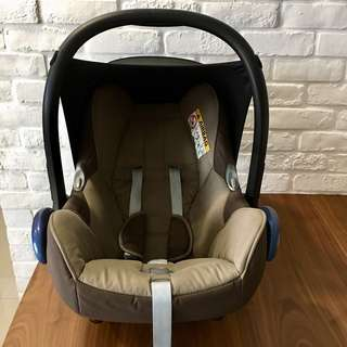 Maxi Cosi Cabriofix 2014 Earth Brown