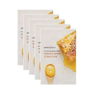 4 for 50.000 - Innisfree It's Real Squeze Mask Manuka Honey
