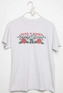 authentic brandy melville guns and roses band tee