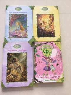 Hard cover story books (one set of 4 books)
