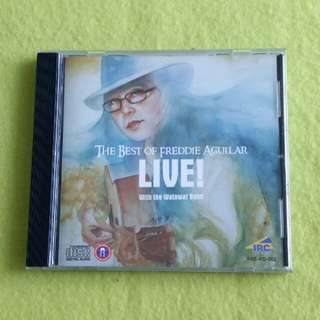 FREDDIE AGUILAR. the best of (Live) Cd not vinyl record