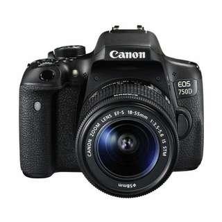 Kredit Canon EOS 750D KIT 18-55mm STM WiFi Kamera DSLR Tanpa Kartu Kredit