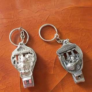 正版Disney兩用鎖鑰扣指甲鉀💅🏻