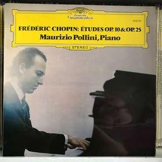 Chopin Etudes Piano Pollini DG 2530291