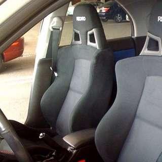 Evo x recaro seat - driver side