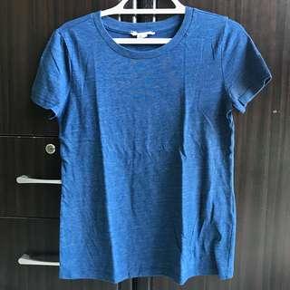 Forever 21 blue shirt