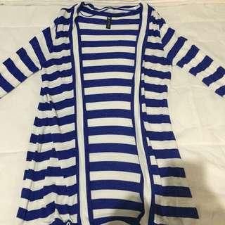 Cotton on Stripe Cardigan